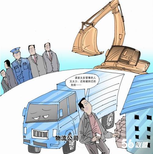物流公司岗位结构图